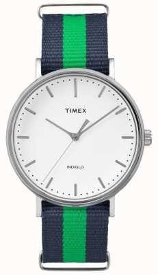 Timex Unisexe week-end fairfax sangle vert marine TW2P90800