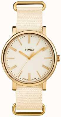 Timex Bracelet en tissu crème creme unisexe TW2P88800