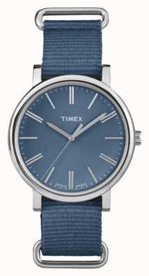 Timex cadran bleu marine unisexe bracelet en tissu bleu marine TW2P88700