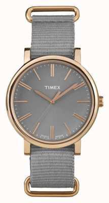Timex cadran gris unisexe bracelet en tissu gris TW2P88600