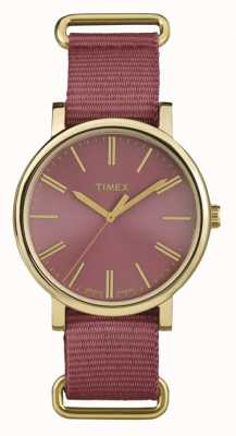 Timex Bracelet en rose rose unisexe TW2P78200