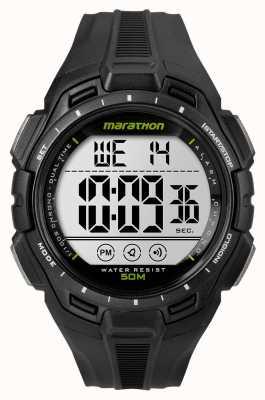 Timex Hommes homme de fer alarme marathon noir TW5K94800