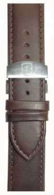 Elliot Brown Bracelet déployant en cuir semelle 22mm pour femme STR-L09