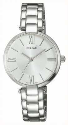 Pulsar Womens cadran bracelet en argent en acier inoxydable PH8237X1