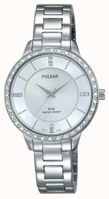 Pulsar Womens cadran bracelet en argent en acier inoxydable PH8213X1