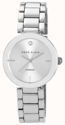 Anne Klein Bracelet en acier inoxydable pour femme en argent AK/N1363SVSV