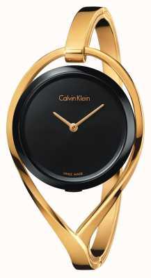 Calvin Klein Bracelet en or noir à petite taille K6L2S411