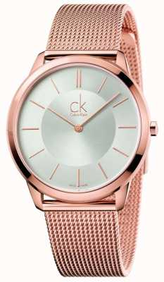 Calvin Klein Monton or jaune rose minimal K3M21626