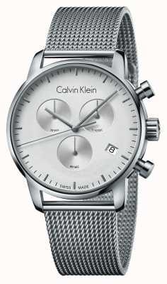 Calvin Klein Horloge numérique pour homme en acier inoxydable K2G27126