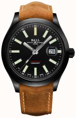 Ball Watch Company Étui automatique en carbure de titane Engineer II Green Berets NM2028C-L4CJ-BK