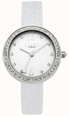 Lipsy Womans bracelet en argent cadran blanc LP471