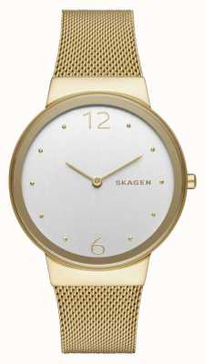 Skagen Womans inoxydable or en acier plaqué mesh sangle SKW2519