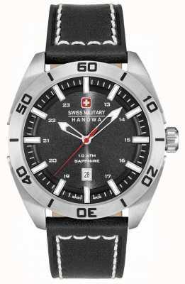 Swiss Military Hanowa Champ cuir noir 6-4282.04.007