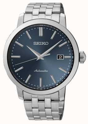 Seiko cadran bleu mechnical Mens automatique SRPA25K1