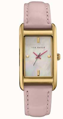 Ted Baker Womans boîtier en or rose cadran blanc TE10030751