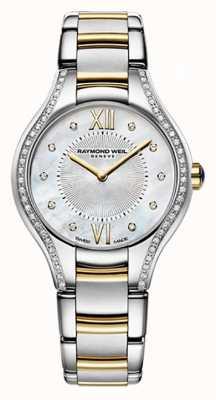 Raymond Weil Womans deux tons noemia 62 diamant nacre 5124-SPS-00985