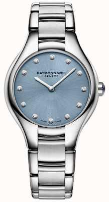 Raymond Weil Womans noemia bleu 12 diamants 5132-ST-50081