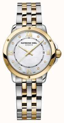 Raymond Weil Womans tango deux tons diamant point nacre 5391-STP-00995
