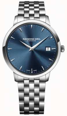 Raymond Weil mouvement à quartz Mens bleu en acier inoxydable 5488-ST-50001