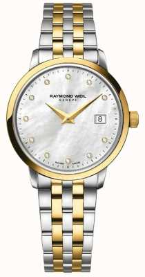Raymond Weil Womans toccata deux tons or diamant 5988-STP-97081