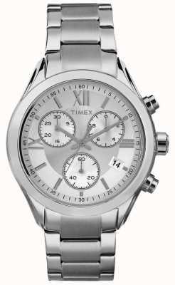 Timex Womans miami chronographe ton argent TW2P93600