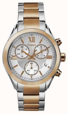 Timex ton or rose chronographe Womans miami deux TW2P93800