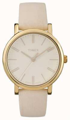 Timex beige tons originaux des unisexe TW2P96200