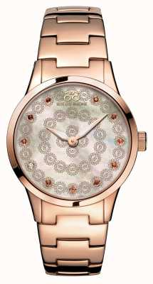 88 Rue du Rhone Rive 32mm dames quartz rose d'or 87WA153202
