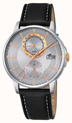Lotus mens multifonctionnel, bracelet en cuir L18323/1