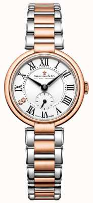 dames Dreyfuss deux tons or rose 1974 montre DLB00159/01/L