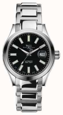 Ball Watch Company Cadran noir automatique en acier inoxydable pour homme ingénieur ii NM2026C-S6-BK