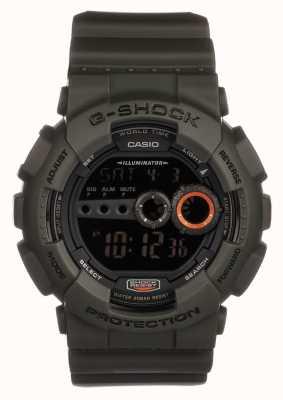 Casio Mens édition limitée g-shock green GD-100MS-3ER
