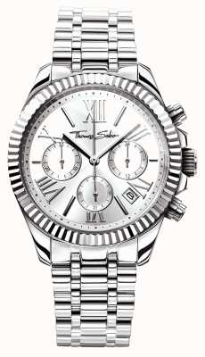 Thomas Sabo Womens acier inoxydable chrono divine WA0253-201-201-38