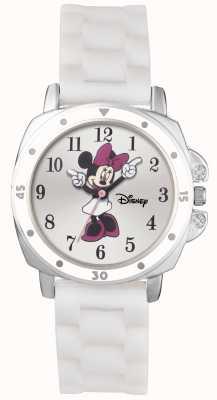 Disney Princess Bracelet en caoutchouc blanc Minnie Mouse MN1064