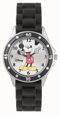 Disney Princess Bracelet en caoutchouc noir Mickey Mouse MK1195