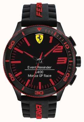 Scuderia Ferrari Montre alarme alarme noir rouge 0830375