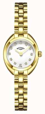 Rotary Womans bracelet en plaqué or LB05015/11