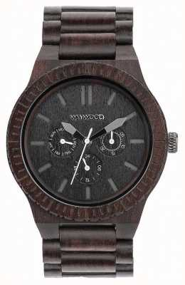 WeWood Bracelet noir en bois noir pour homme Kappa Ex-Display 70315300 Ex-Display