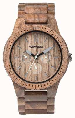 WeWood Mens kappa écrou bracelet brun en bois 70315700