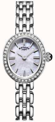 Rotary regarder nacre cocktail en acier inoxydable Womans LB05050/07