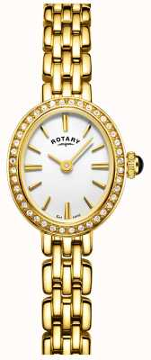 Rotary plaqué or Womans montre cocktail LB05051/02