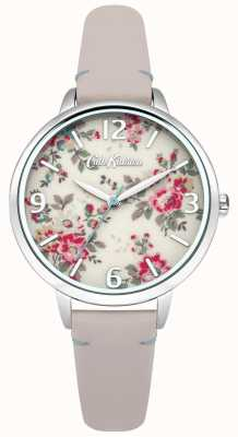 Cath Kidston kingswood Ladies rose montre en cuir nude CKL001PS
