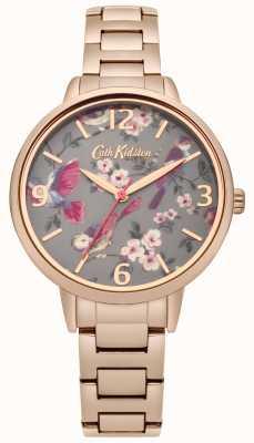 Cath Kidston Ladies oiseaux britanniques bracelet en or rose CKL001RGM