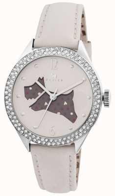Radley La grande crème extérieur en cuir véritable montre bracelet RY2205