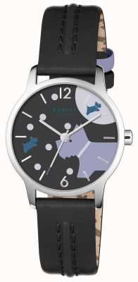 Radley Au cours de la lune bracelet en cuir noir RY2405