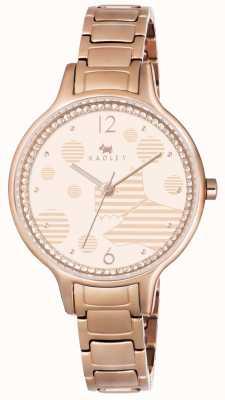 Radley Ormond link bracelet en or rose RY4254