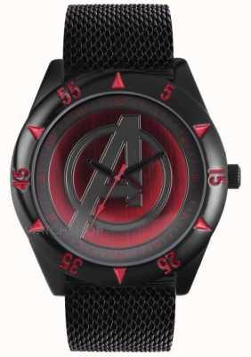Avengers Bracelet en maille noire AUM1541