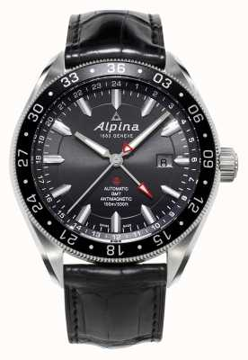 Alpina Mens alpiner 4 gmt automatique AL-550G5AQ6