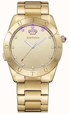 Juicy Couture Womans connecter quartz ton or 1901500