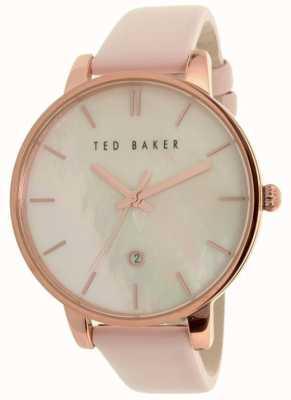 Ted Baker Bracelet en cuir rose féminin en perles TE10026423